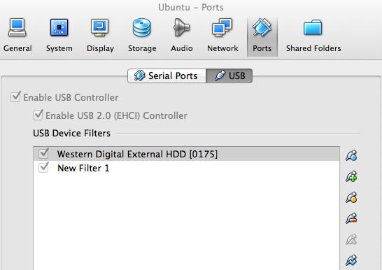 Mac OSX VirtualBox Host: Fix USB Access on Ubuntu Guest